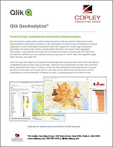 Qlik GeoAnalytics